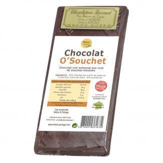 Chocolat noir au souchet